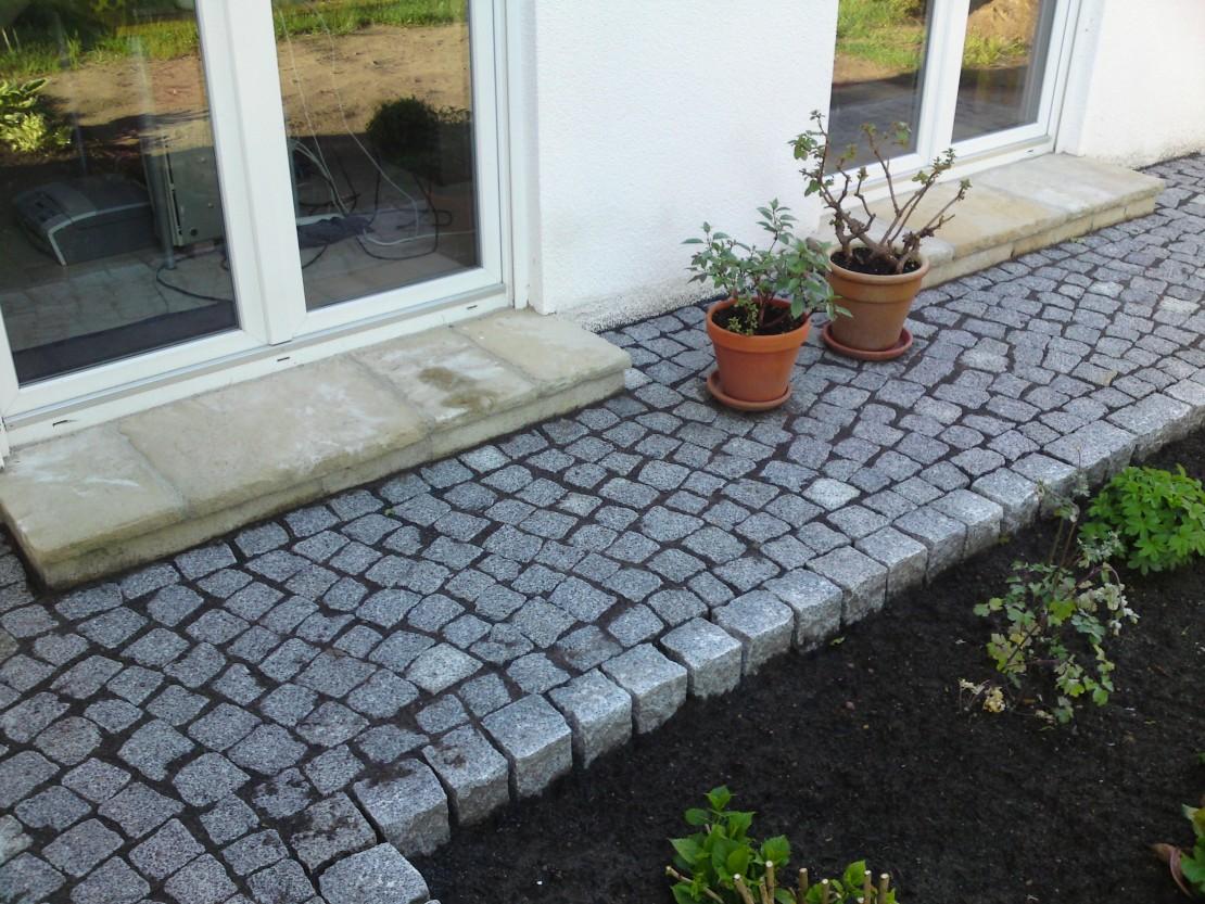 KANN Bradstone OldTown und Granit Kleinpflaster