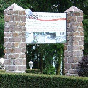 Firmenschild-Jeserig