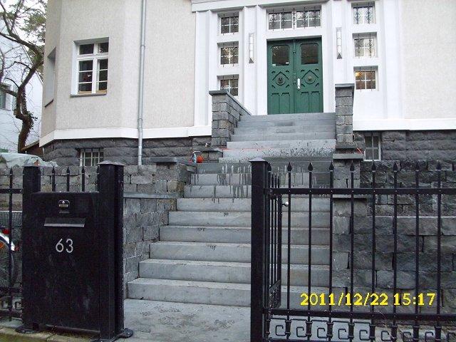 Treppenanlage Mauern Wege Anroechter Dolomit