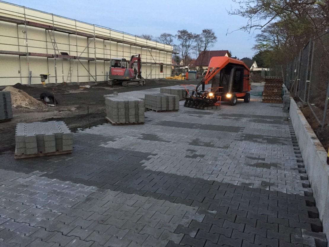Erweiterung REWE EKZ in Brandenburg Havel Goerden