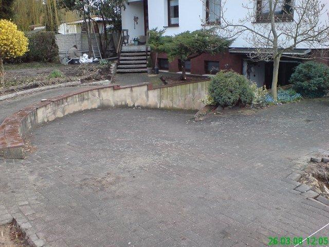 EHL TerrAntik Betonpflaster und BossAntik Mauer