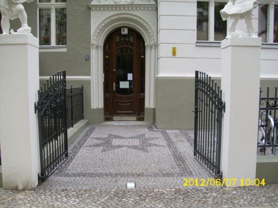 Berliner Vordergarten erneuert