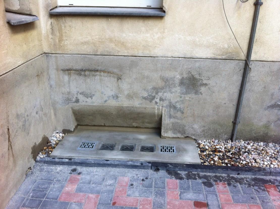 Berliner Hinterhof saniert